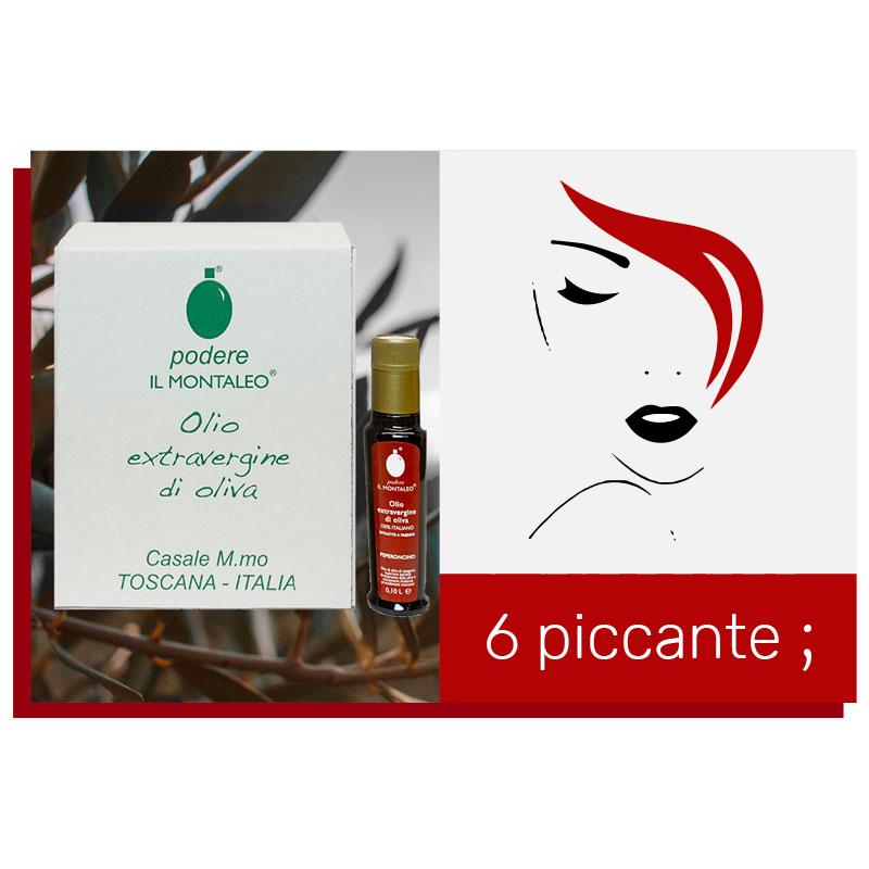 6 piccante ;